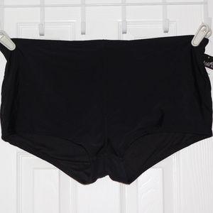 2X Catalina Black Swim Stretch Bottoms Shorts NWT